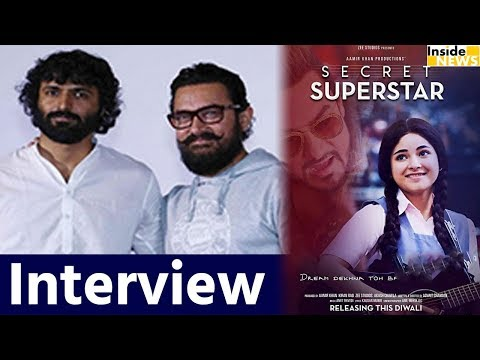 Aamir Movie SECRET SUPERSTAR Director Advait Chandan Interview | Inside News