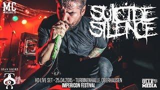 Suicide Silence - FULL HD LIVE SET - Impericon Festival, Oberhausen
