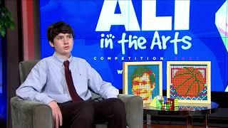 #WHUTtv presents - 2021 #AliInTheArts Competition Winner - Rubix Cube Art