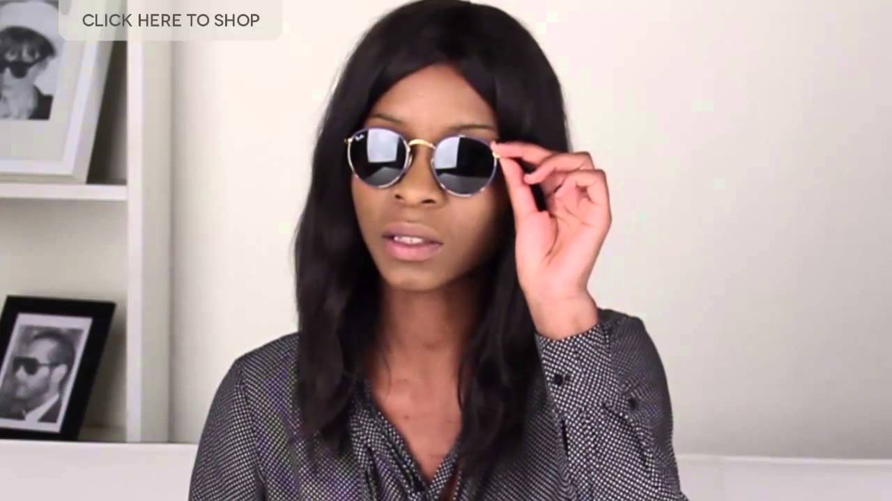 c45bbcbb255a8 Ray-Ban RB4147 Highstreet 2015 Summer Collection Review   VisionDirectAU -  YouTube