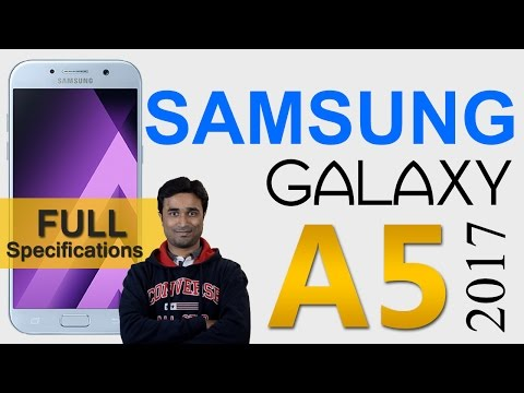 [Hindi-हिंदी] Samsung Galaxy A5 (2017) - सैमसंग गैलेक्सी ए५ (२०१७) | Specifications and Features