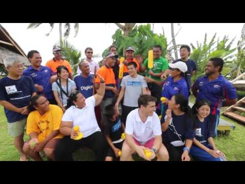 Promoting future Olympians in Samoa