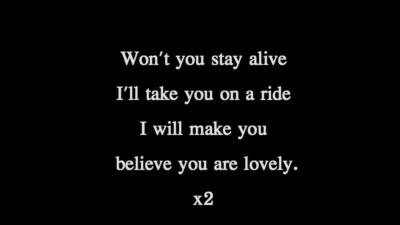 Lovely Lyrics Twenty One Pilots Twenty One Pilots  Lovely  Lyrics Youtube