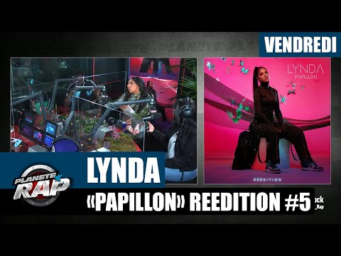 Youtube: Planète Rap – Lynda«Papillon» (Réédition) avec sa sœur, son frère, Hiro et Fred Musa #Vendredi