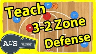 How to TEACH a 3-2 Zone Defense in Basketball