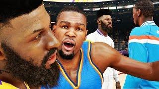 NBA 2k15 MyCAREER Gameplay S2 - 100 POINT CHALLENGE! Bridges Dunking Again POSTERIZES Durant