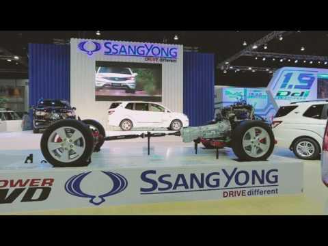 "BOOTH... THE 37th BANGKOK  INTERNATIONNAL MOTOR SHOW  ""SSANGYONG"""