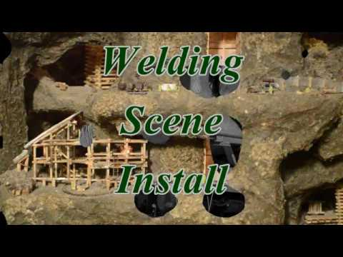Realistic Model Welding Flicker In The Gold Mine