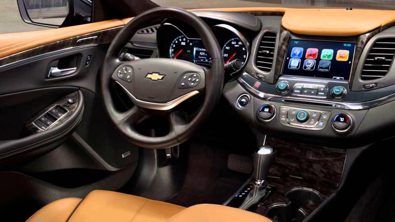 2016 Chevrolet Impala Interior Youtube