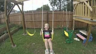 Diy Swingset Paid For By Trash!!