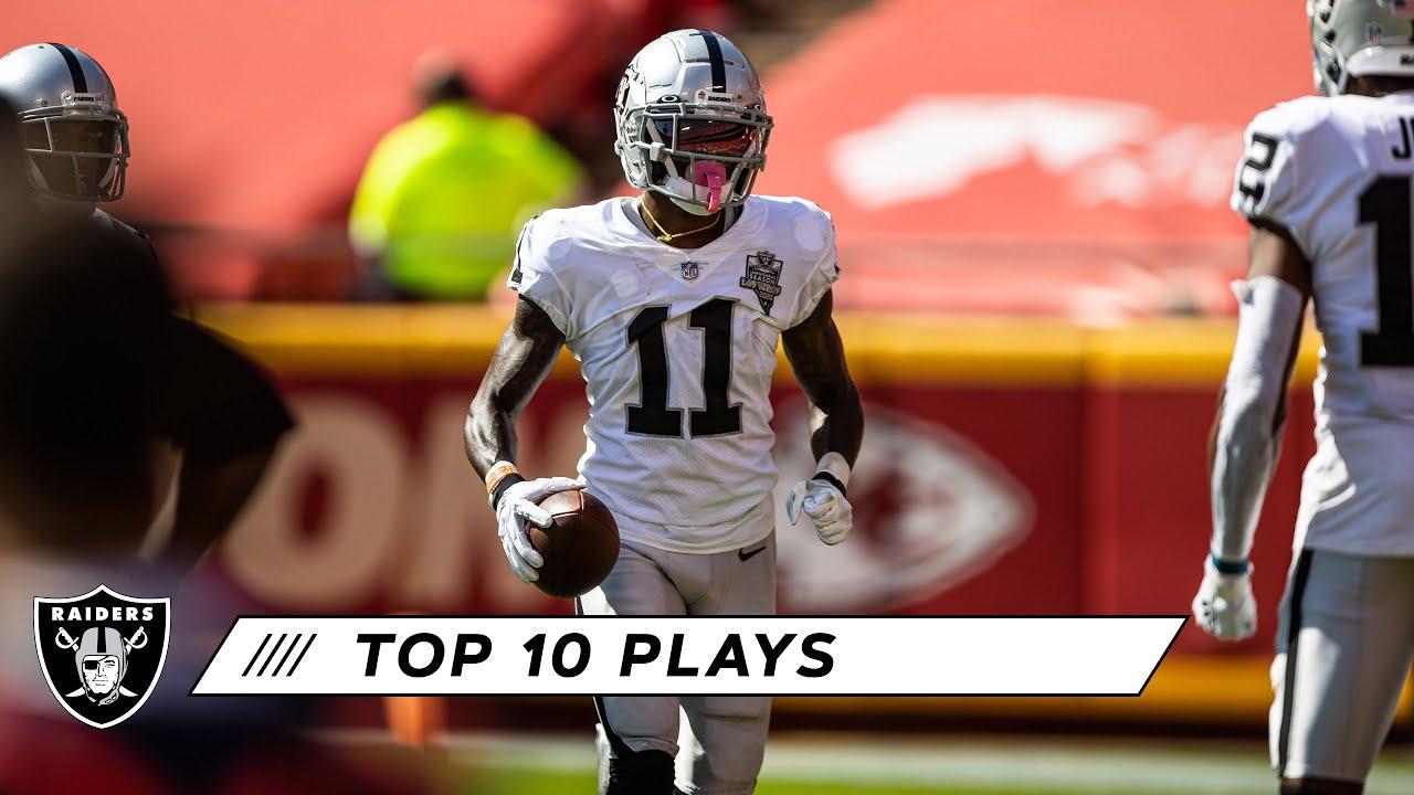 Raiders Top 10 Plays From the 2020 Season | Highlights | Las Vegas Raiders