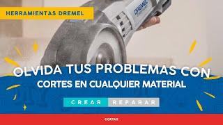 Quieres conocer las aplicaciones que la Dremel Saw-Max hace?