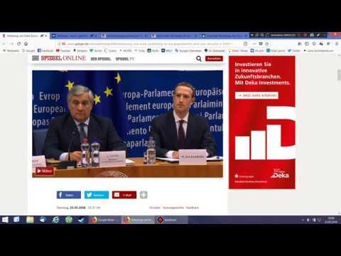 News: Zuckerberg und die EU - Neues zum BAMF Skandal - neue Milliarden für