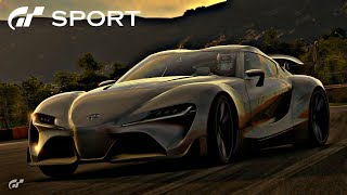 GT SPORT - Toyota FT-1 Concept REVIEW