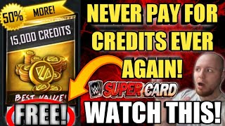 HOW TO GET FREE CREDITS FOR WWE SuperCard TO BUY PACKS FOR FREE NEVER PAY FOR CREDITS AGAIN! Noology