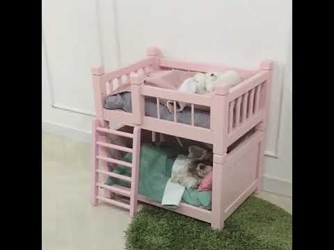 bunk bed for dogs youtube. Black Bedroom Furniture Sets. Home Design Ideas