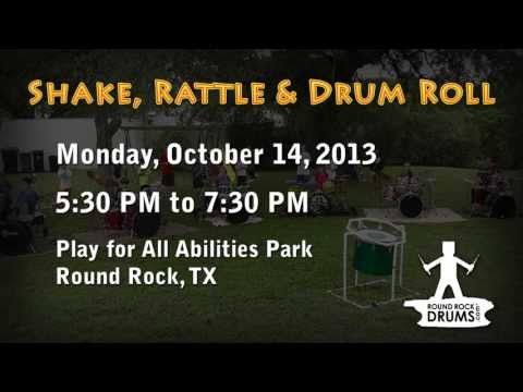 Round Rock Drums - Shake Rattle & Drum Roll