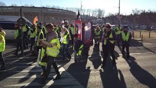 Mont-de-Marsan : 250 personnes participent à une marche citoyenne ce 5 janvier