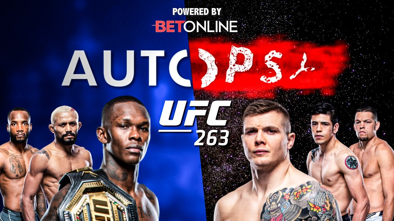 The Autopsy: UFC 263 - Israel Adesanya vs Marvin Vettori, Figueiredo vs Moreno & Diaz vs Edwards