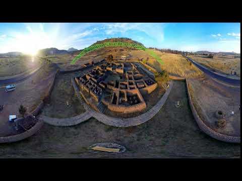 Aksum Dungur Königin Sheba s Palace 360°