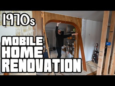 Vintage Arch Door Tear Out | Bathroom & Kitchen Remodel ⚡️ Home Renovation #60