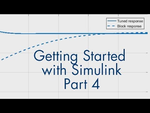 Getting Started with Simulink, Part 4: How to Tune a PID Controller