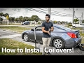 How to Install Coilovers | Nissan Altima Coupe