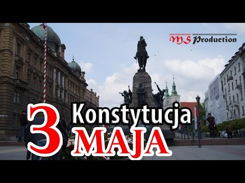 May 3rd Constitution Day in Cracow 2016