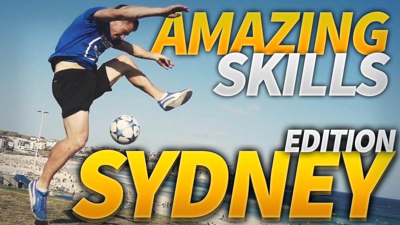 Amazing Freestyle Football Tricks In Sydney Andrew Henderson