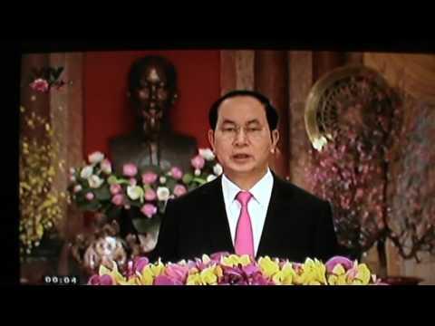 Chủ tịch nước, Trần Đại Quang, chúc Tết Đinh Dậu 2017