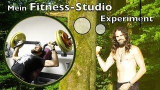 Mein erstes Mal! Im Fitness Studio! Vegan Muskeln aufbauen oder abnehmen? Das Experiment!