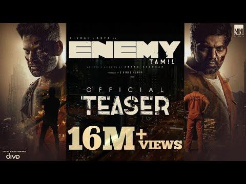 Enemy (Tamil) - Official Teaser | Vishal,Arya | Anand Shankar | Vinod Kumar | Thaman S, Sam CS