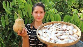 Yummy Pumpkin Fish Edible Amaranth Soup Recipe - Pumpkin Fish Edible Amaranth Soup Cooking - Cooking