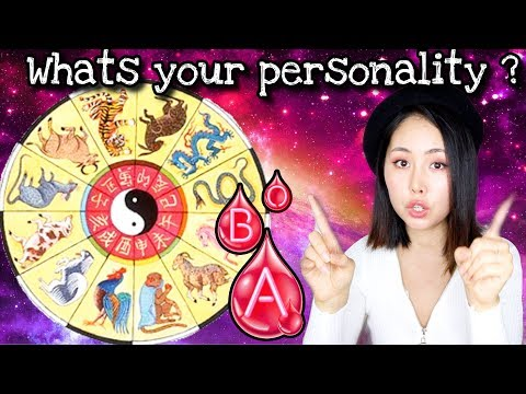 Your Personality According to Your Asian Zodiac and Blood type!
