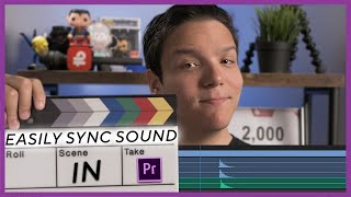 How To Easily Sync Sound in Premiere Pro!