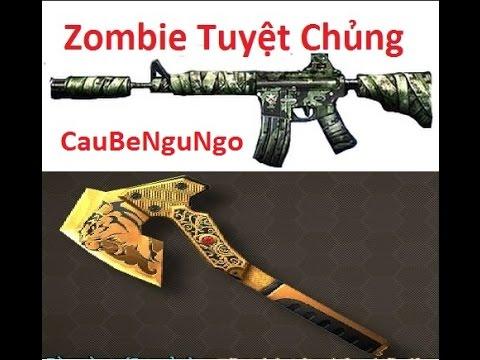 Bình Luận Truy Kich   M4A4 Bandage + Rìu GOLD - ZOMBIE TUYỆT CHỦNG ✔