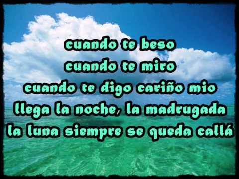 Cuando te beso-Niña Pastori (con letra).wmv