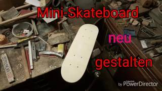 DIY: Skateboard Deck Design