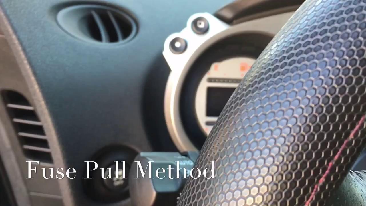 diy 370z steering lock failure fix youtube diy 370z steering lock failure fix