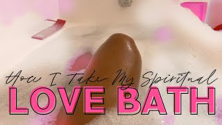 How I Take My Spiritual Love Baths 💖💫 | Arianna Jonae