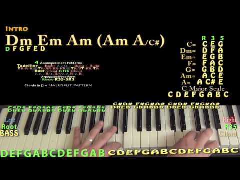 Fake Love (Drake) Simplified Piano Lesson Chord...