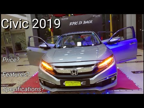 Honda Civic SPORT 2019 Detail Review /Price/Specification/Features/ Variants