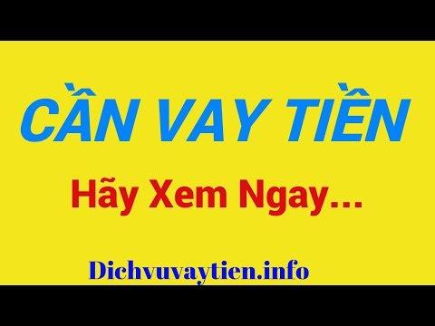 VAY TIỀN NHANH Chỉ Cần CHỨNG MINH NHÂN DÂN - Chứng Minh Thư Nhanh Nhất Trong Ngày | Dichvuvaytien