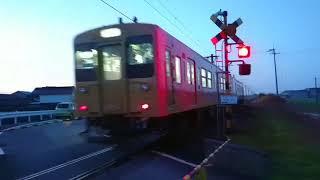 鉄道動画(JR西日本・105系)