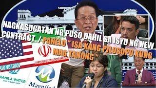 PANELO MEDIA nagkasagutan ng matindi sa bagong kontrata ng TUBIG