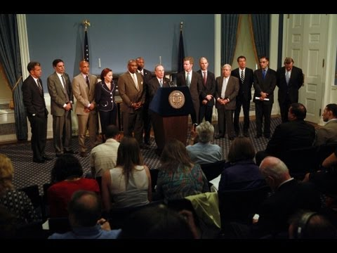 Mayor Bloomberg Makes A U.S. Housing & Urban Development Announcement