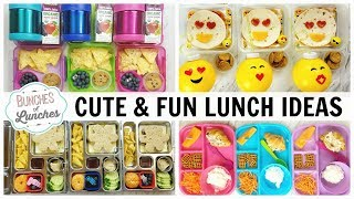 CUTE and FUN LUNCHBOX Ideas | JK, K, 1st grade, 2nd Grade | Bunches Of Lunches + What They Ate