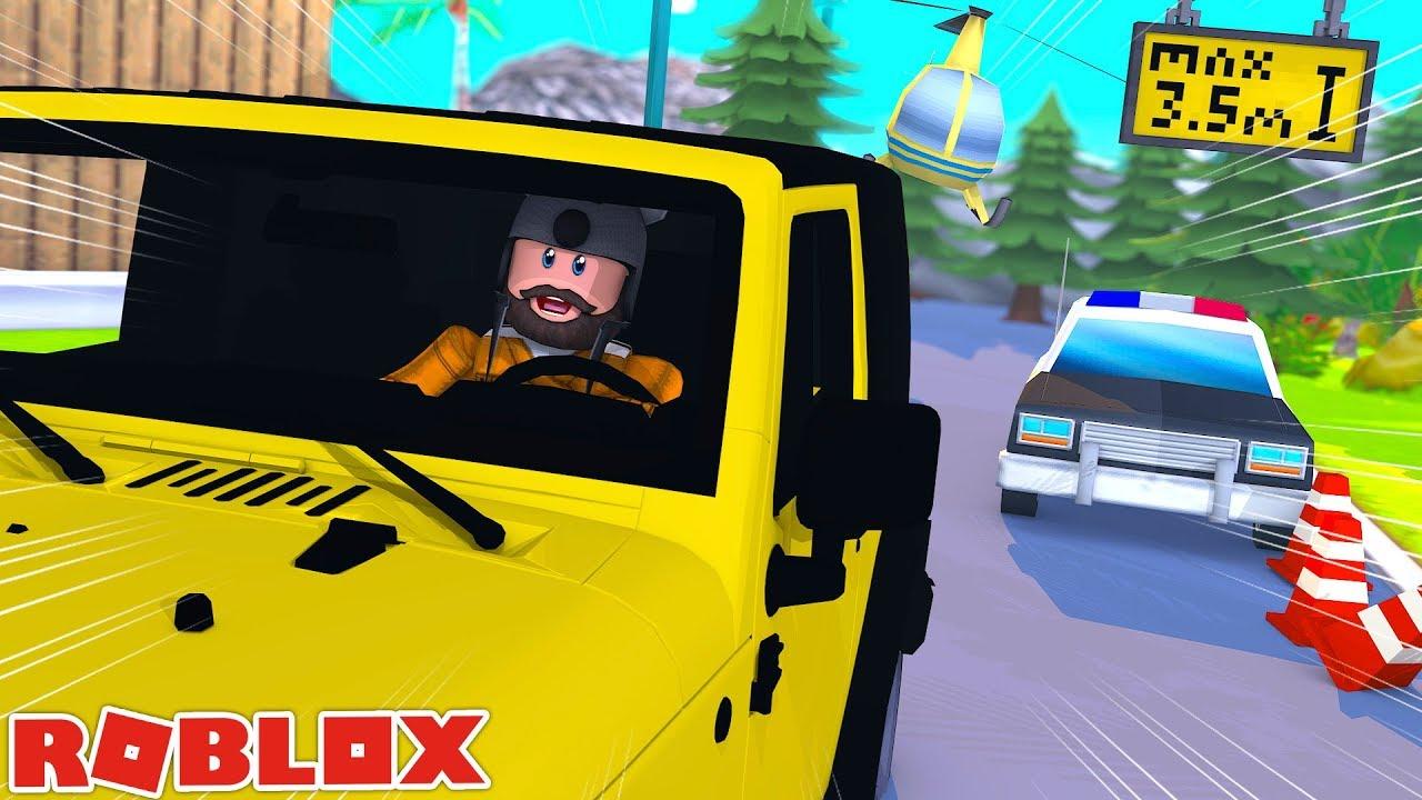 Suv New Bank Escape Route Roblox Jailbreak Youtube