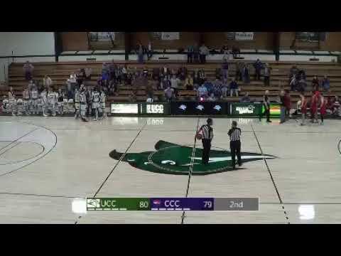 UCC Men's Basketball vs Clackamas Community College