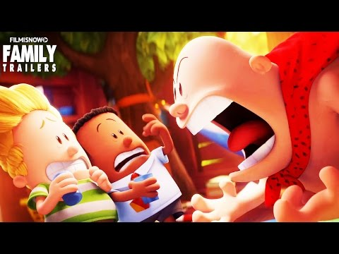 Captain Underpants | New funny clip from the animated comedy